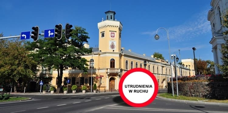 30 sierpnia utrudnienia na ulicach Radomska