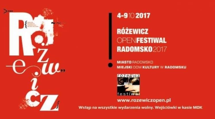 4 - 9 października Radomsko Miastem Różewiczów