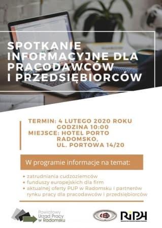 4 lutego spotkanie przedsiębiorców i pracodawców