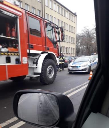 Alarm bombowy w Urzędzie Skarbowym w Radomsku