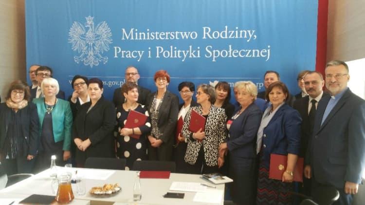 Andrzej Barszcz w Radzie Pomocy Społecznej