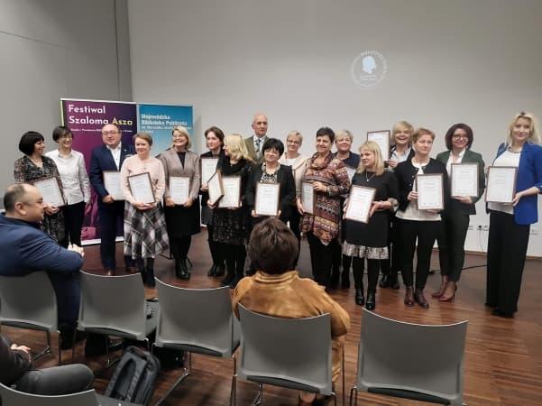 Biblioteka z Radomska uhonorowana przez Wojewódzką Bibliotekę w Łodzi
