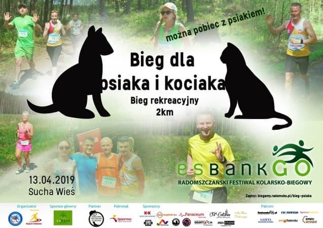 Bieg dla psiaka i kociaka