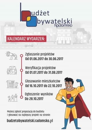 Budżet Obywatelski: kalendarz wydarzeń