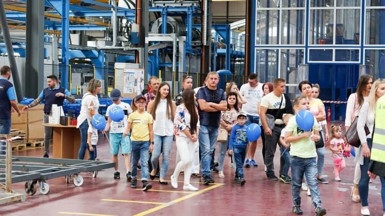 Cortizo świętuje hiszpańską fiestę dla swoich pracowników