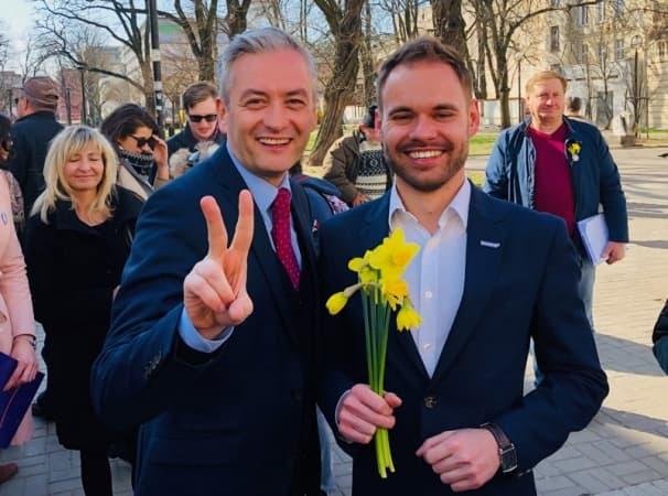 Dawid Wawryka kandyduje do Europarlamentu