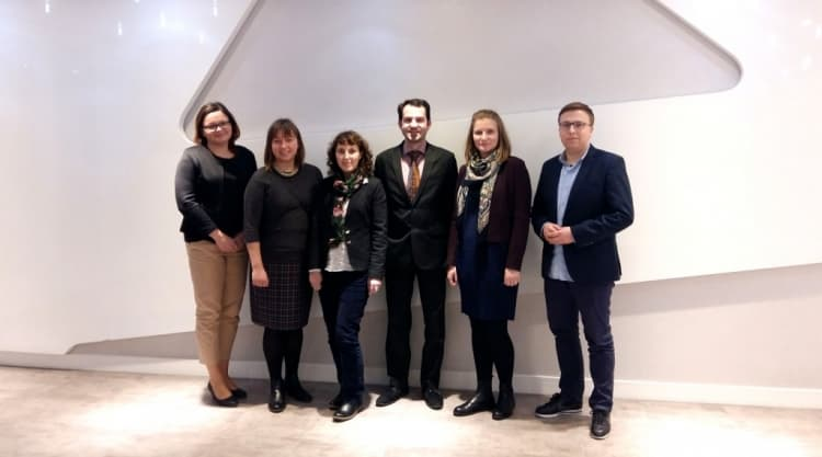 Delegacja z Olaine w Radomsku