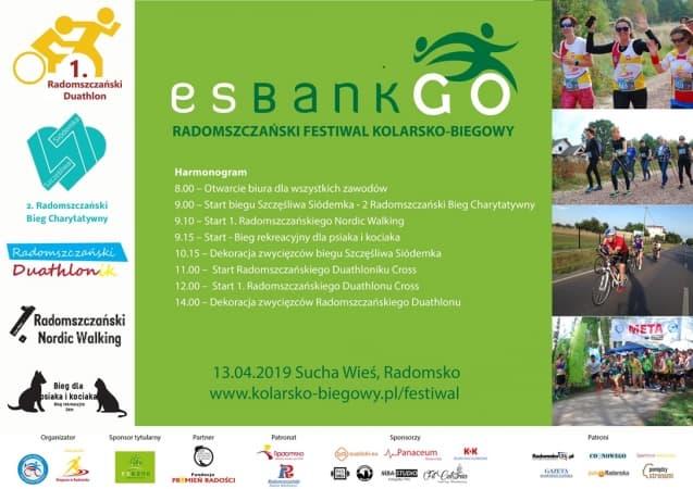 Festiwal Kolarsko-Biegowy. Program