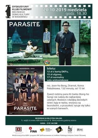 "Film ""Parasite"" na ekranie kina MDK"