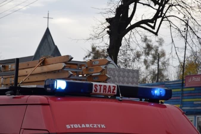 Gmina Ładzice. Wybuch butli z gazem