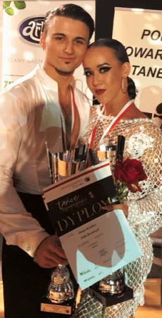 Julia Kowalczyk z Radomska mistrzynią Polski w tańcach latynoamerykańskich