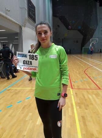 Karolina Półrola-Giza zdobywa srebrny medal na Mistrzostwach Polski Seniorów na 1500 metrów