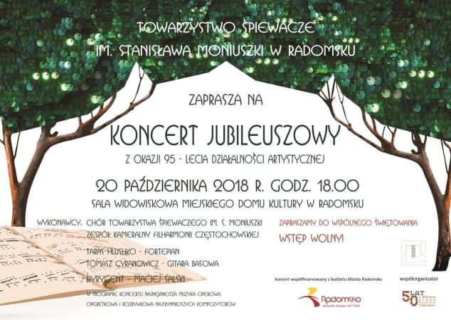 Koncertowy jubileuszowy Moniuszkowców