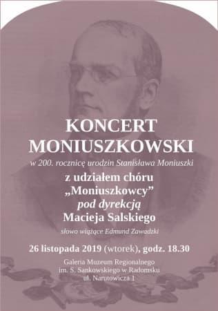 Koncert w 200. rocznicę urodzin Stanisława Moniuszki