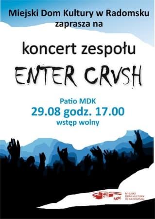 Koncert zespołu Enter CRVSH na zakończenie lata