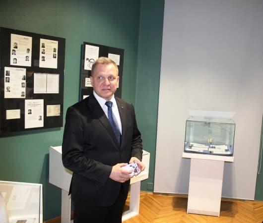 Krzysztof Zygma pożegnał się z pracownikami muzeum