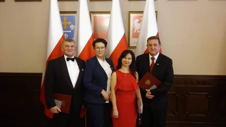 Medal 100-lecia Odzyskania Niepodległości dla zasłużonych radomszczan