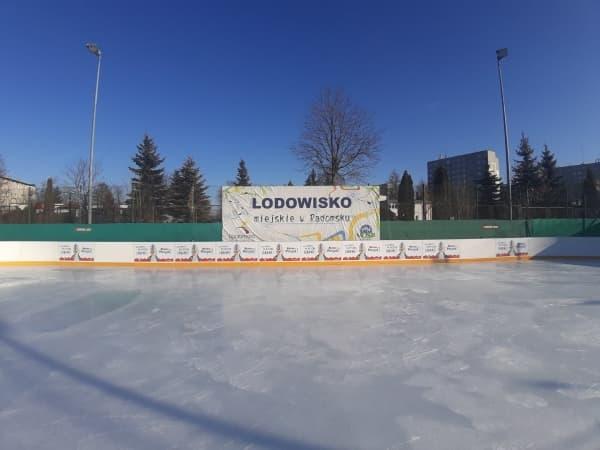 Miejskie lodowisko w Radomsku zamknięte