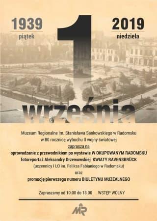 Muzeum zaprasza na wystawę w rocznicę wybuchu wojny