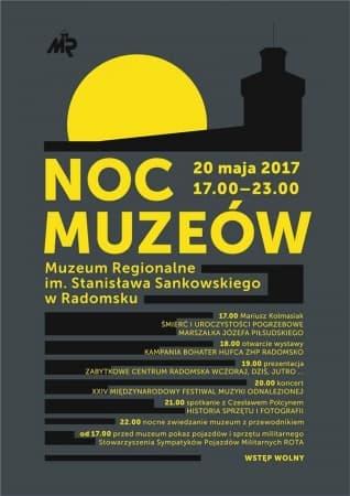 Noc Muzeów 2017 w Radomsku