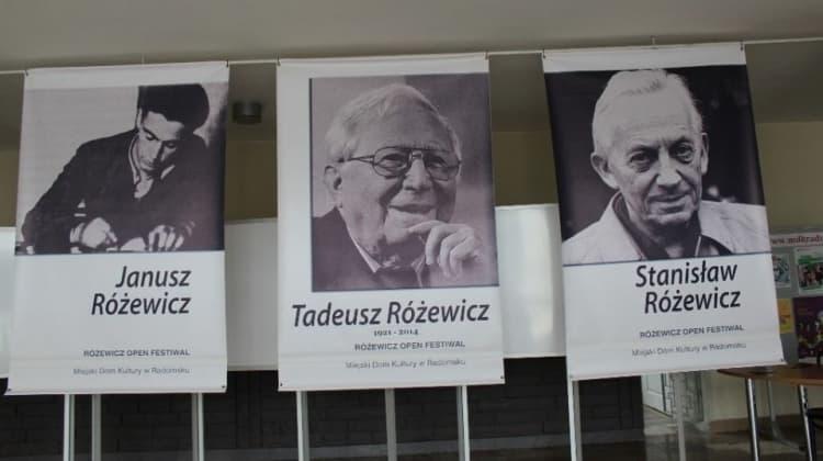 O Różewicz Open Festiwal na antenie radiowej \