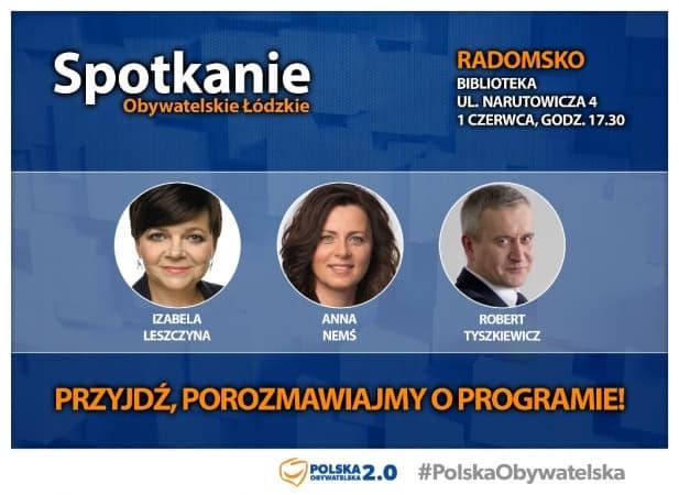 Parlamentarzyści PO w Radomsku
