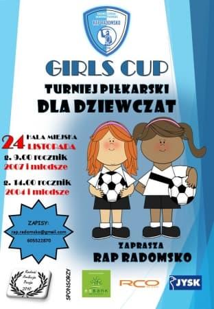 Pierwszy turniej piłkarski dla dziewcząt w Radomsku