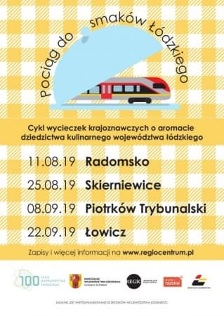 Pociąg z Łodzi do smaków w Radomsku