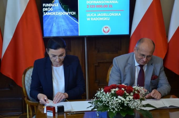 Podpisano umowę na modernizację ul. Jagiellońskiej w Radomsku