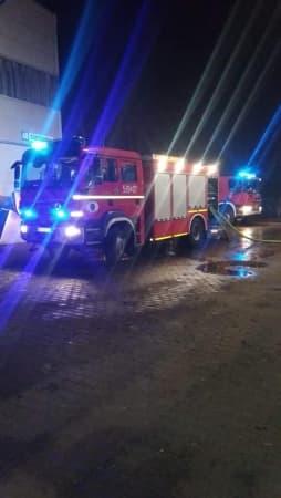 Pożar w sortowni odpadów w gminie Kamieńsk