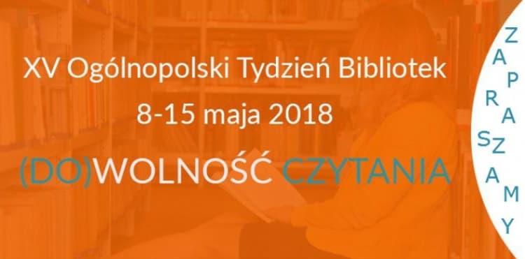 Program. Ogólnopolski Tydzień Bibliotek w Radomsku