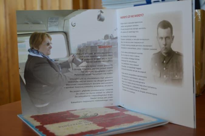 Promocja drugiej części tomiku o lotnikach