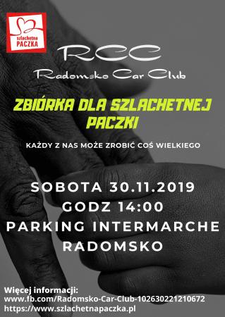 Radomsko Car Club i zbiórka dla Szlachetnej Paczki