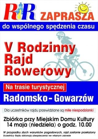 RdR zaprasza na rajd rowerowy