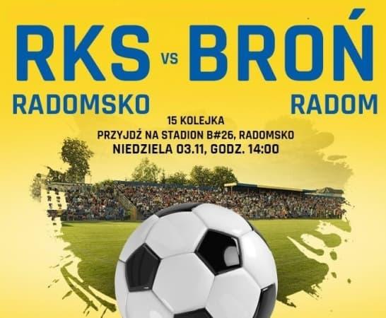 RKS Radomsko podejmuje Broń Radom