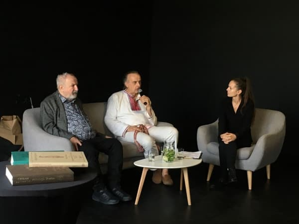 """Spotkanie z Jerzym Przybyłem na finisażu wystawy """"Rok Słowiański"""""""