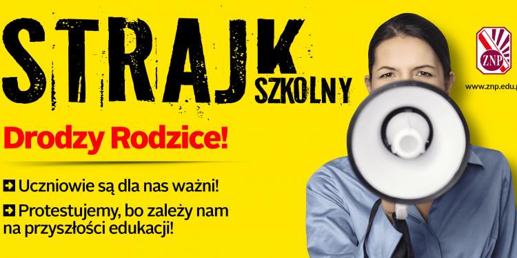 Strajk w oświacie!