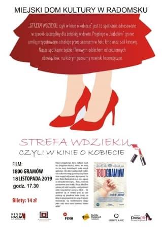 STREFA WDZIĘKU, czyli w Kinie o Kobiecie: 1800 gramów