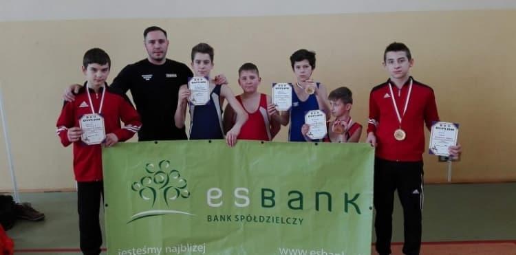Sukcesy zapaśników ZKS na mistrzostwach województwa