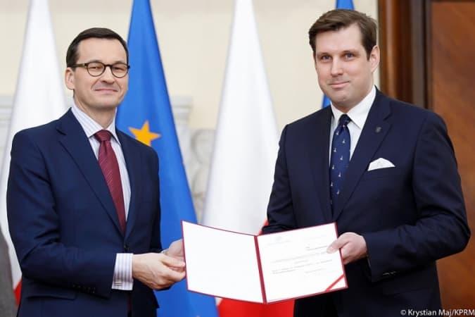 Tobiasz Bocheński powołany na Wojewodę Łódzkiego