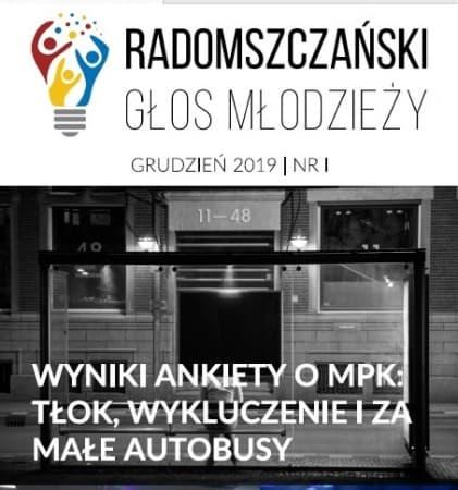 Ukazał się pierwszy numer Radomszczańskiego Głosu Młodzieży