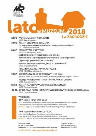 Wakacje w muzeum i Zagrodzie Tatarskiej