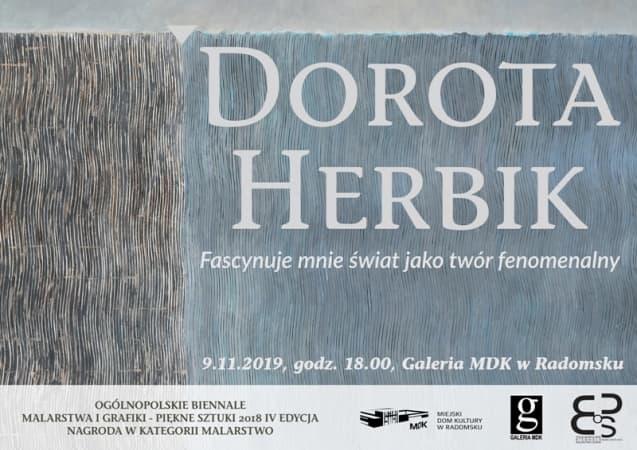 Wernisaż wystawy malarstwa Doroty Herbik