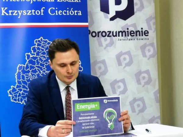 """Wicewojewoda zachęca do korzystania z programu """"Energia+"""""""