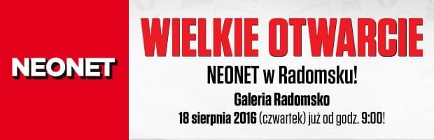 Wielkie Otwarcie NEONET w Galerii Radomsko