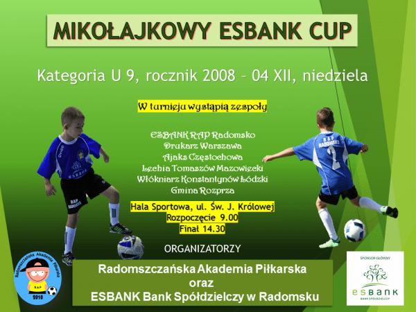 W weekend Mikołajkowy ESBANK CUP