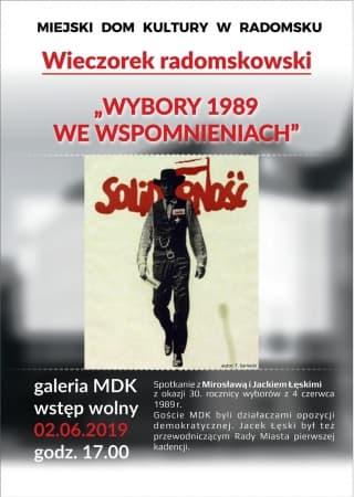 Wybory 1989 roku we wspomnieniach Mirosławy i Jacka Łęskich