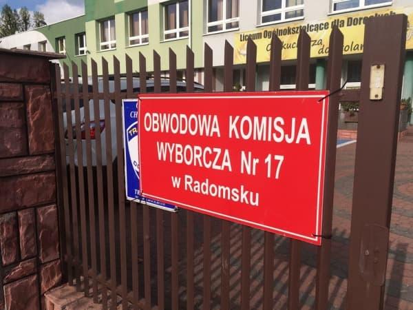 Wybory w Radomsku. Do godz. 17.00 frekwencja wyniosła 38,49%