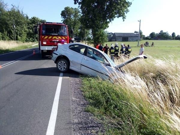 Wypadek w miejscowości Jedlno Pierwsze