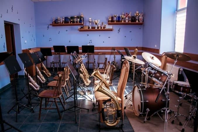 Wyremontowano sale dla Młodzieżowej Orkiestry Dętej OSP Kamieńsk